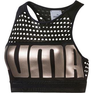 PUMA Sport-BH Damen puma black-metallicashpuma