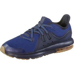 Nike AIR MAX SEQUENT Sneaker Kinder obsidian-deep royal blue-neutr