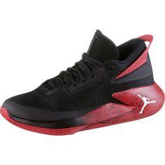 Nike JORDAN FLY LOCKDOWN Basketballschuhe Herren black-white-gym red