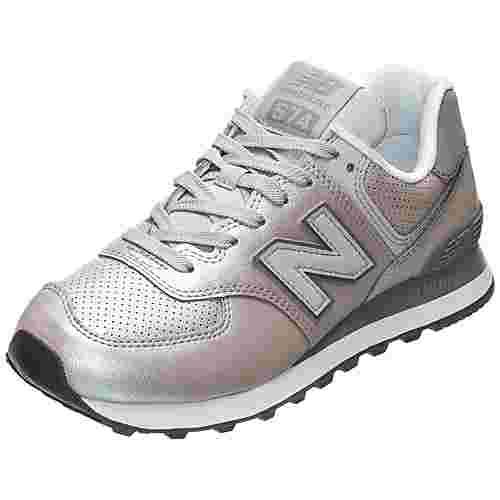 NEW BALANCE WL574-KSC-B Sneaker Damen grau