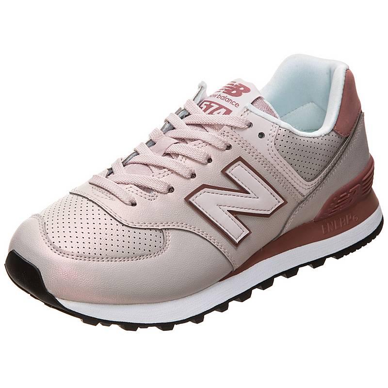 e6b425ec3eeae2 NEW BALANCE WL574-KSE-B Sneaker Damen altrosa   grau im Online Shop ...