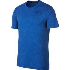 Nike Breathe Hyper Dry Funktionsshirt Herren signal-blue-gym-blue-black