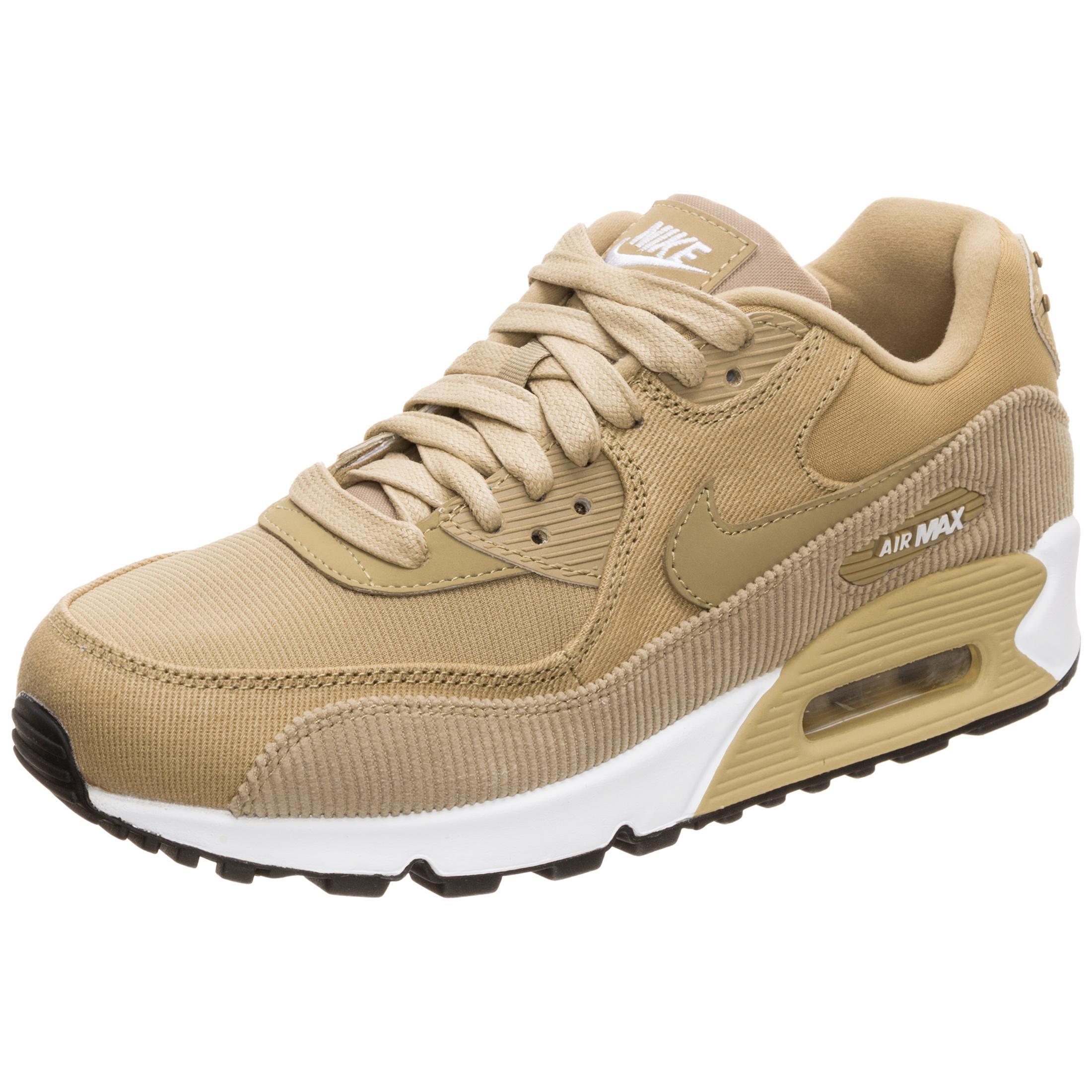 info pour 35321 270d7 Nike Air Max 90 Leather Sneaker Damen beige / schwarz im Online Shop von  SportScheck kaufen