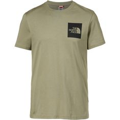 The North Face Fine T-Shirt Herren tumbleweed green