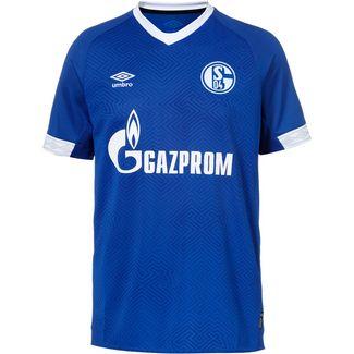 UMBRO FC Schalke 04 18/19 Heim Fußballtrikot Herren deep surf-brilliant white