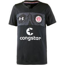 Under Armour FC St. Pauli 18/19 3rd Fußballtrikot Kinder black
