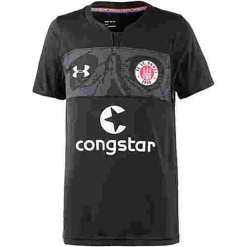 Under Armour FC St. Pauli 18/19 3rd Fußballtrikot Kinder black