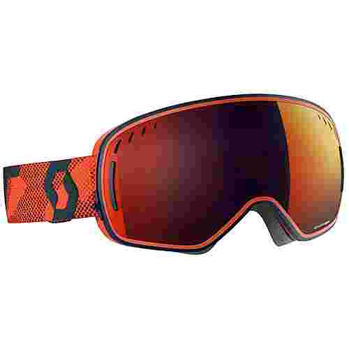 SCOTT LCG Skibrille blue/orange