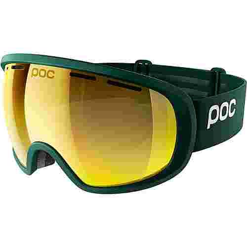 POC Fovea Clarity Skibrille Polydenum Green/Spektris Gold