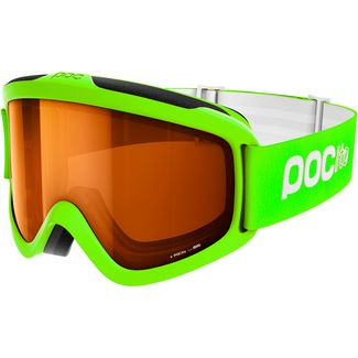POC POCito Iris Skibrille Kinder Fluorescent Yellow/Green