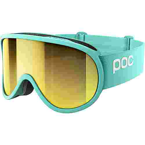 POC Retina Clarity Skibrille Tin Blue/Spektris Gold