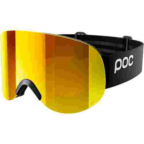 POC Lid Clarity Skibrille Uranium Black/Spektris Orange