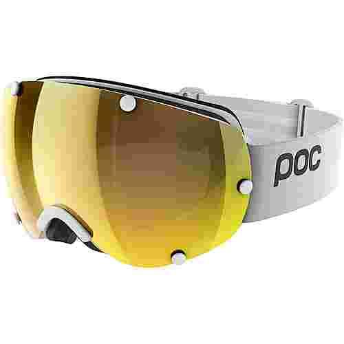 POC Lobes Clarity Skibrille Hydrogen White/Spektris Gold