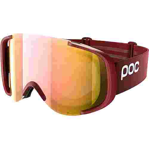 POC Cornea Clarity Skibrille Lactose Red/Spektris Rose Gold