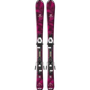 Salomon QST LUX Jr S All-Mountain Ski Kinder red/black