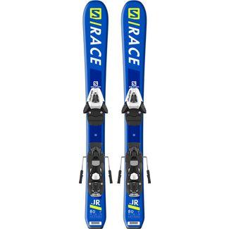 Salomon  S/RACE Jr XS All-Mountain Ski Kinder Blue/Yellow