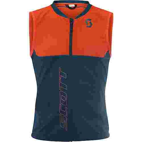 SCOTT Actifit Plus Light Vest Protektorenweste Herren denim blue/tangerine orange