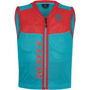 SCOTT Junior Actifit Plus Protektorenweste Kinder sky blue/hibiscus red
