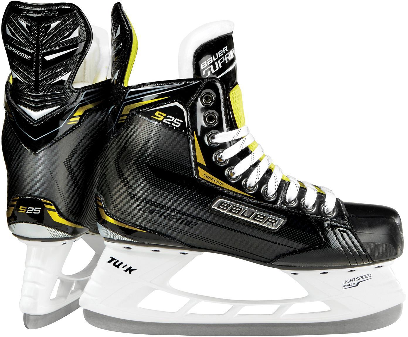 BAUER Supreme S25 Schlittschuhe Herren schwarz schwarz schwarz im Online Shop von SportScheck kaufen Gute Qualität beliebte Schuhe bbdb55