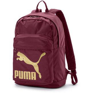 PUMA Rucksack Daypack Damen Fig-Gold
