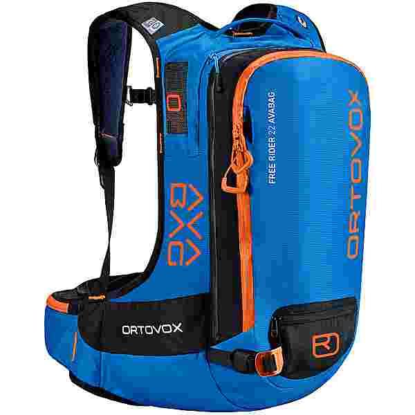 ORTOVOX Free Rider 22 Avabag Lawinenrucksack safety blue