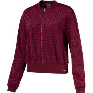PUMA Luxe Trainingsjacke Damen fig