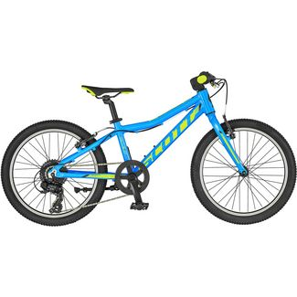 SCOTT Scale 20 Rigid Fork MTB Hardtail Kinder blue/lime