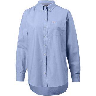 Tommy Jeans Tommy Classics Langarmhemd Damen light-blue
