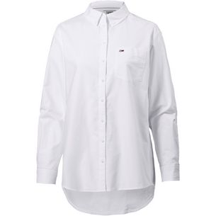 Tommy Jeans Tommy Classics Langarmhemd Damen classic white