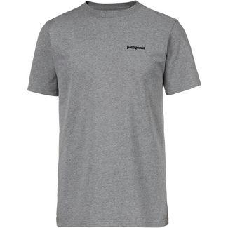 Patagonia P-6 Logo T-Shirt Herren gravel heather