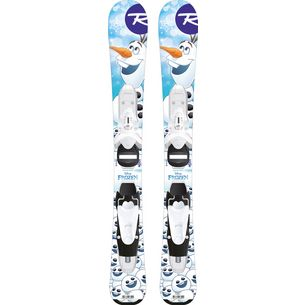 Rossignol FROZEN (Baby) / TEAM 4 All-Mountain Ski Kinder weiß/blau