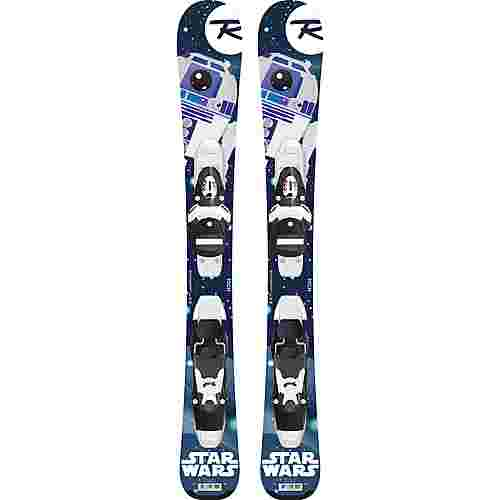 Rossignol STAR WARS (Baby) / TEAM 4 All-Mountain Ski Kinder blau/weiß