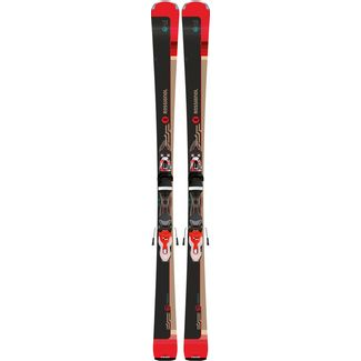 Rossignol FAMOUS 6 / XPRESS W 11 All-Mountain Ski Damen schwarz/rot