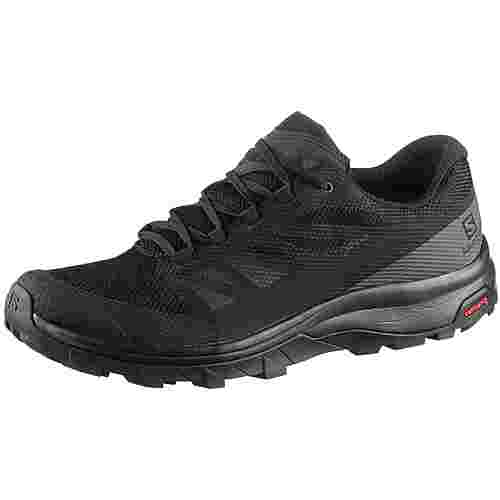 Salomon OUTline Wanderschuhe Herren black-phantom-magnet