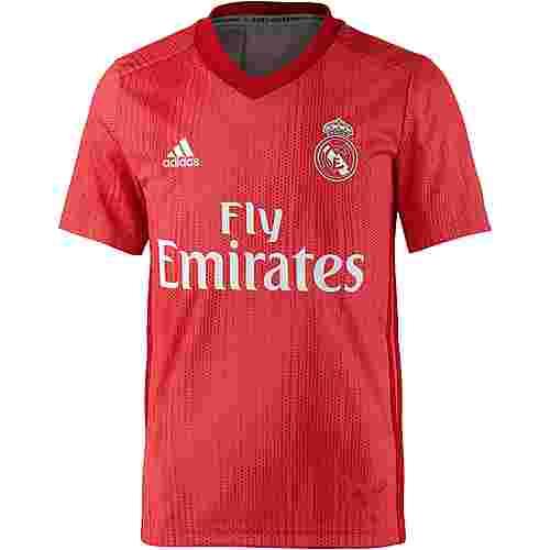 adidas Real Madrid 18/19 CL Fußballtrikot Kinder real coral