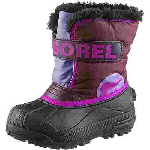 Sorel Stiefel Kinder purpledahlia- paisley purple