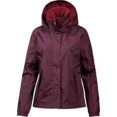 The North Face RESOLVE 2 Jacke Damen FIG/RUMBA RED