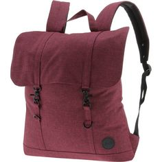 Enter Daypack melange wine red