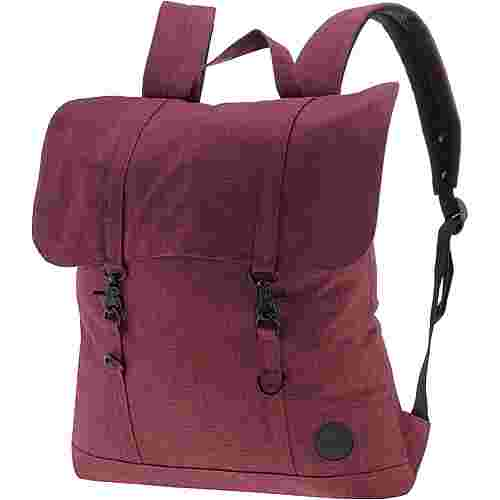 Enter Rucksack Daypack melange wine red