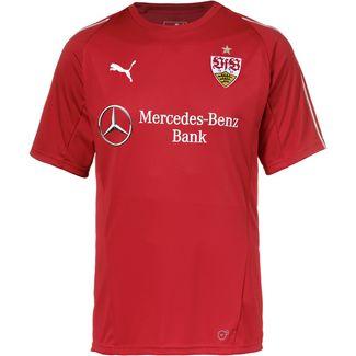 PUMA VfB Stuttgart Funktionsshirt Herren ribbon red-puma white