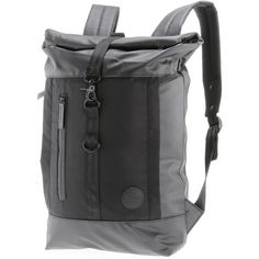 Enter Daypack black waterproof-black heavy nylon-black leather
