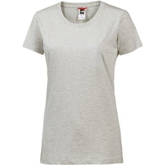 The North Face EASY T-Shirt Damen WILD OAT HEATHER