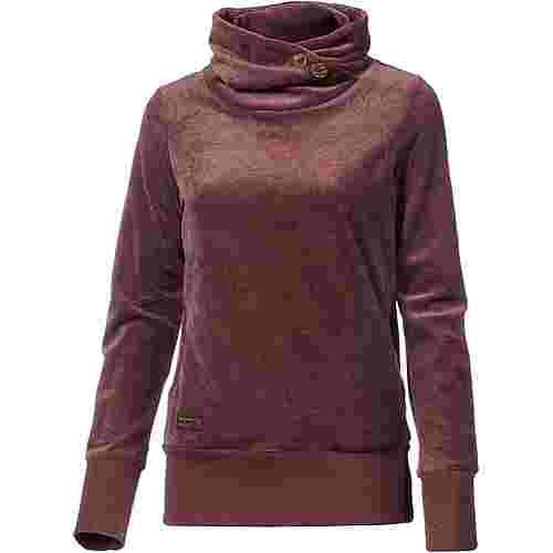 Ragwear Angel Sweatshirt Damen dark choco
