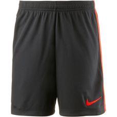 Nike Academy Fußballshorts Kinder black-lt crimson-lt crimson