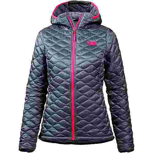 The North Face Thermoball Hoody Kunstfaserjacke Damen GRISAILLE GREY