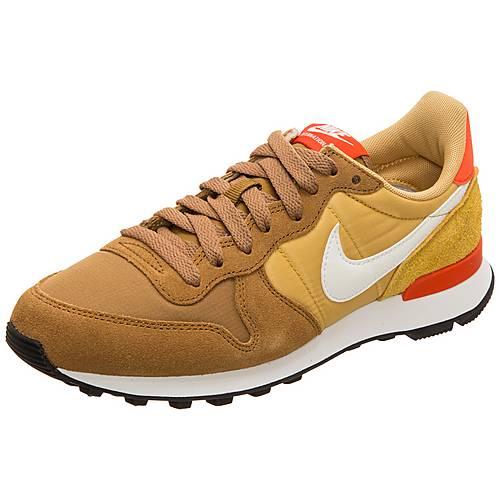 cheap for discount utterly stylish high fashion Nike Internationalist Sneaker Damen gelb / gold / braun im ...