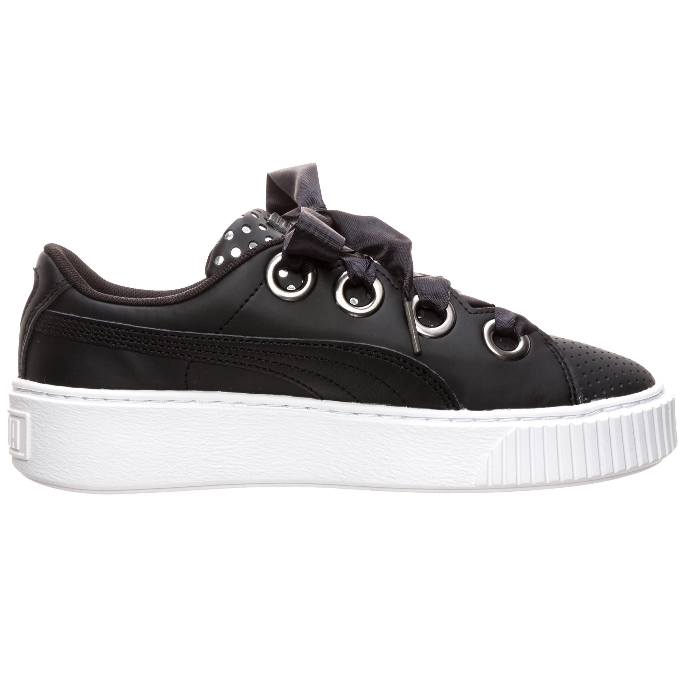 PUMA Platform Kiss Ath Lux Sneaker Damen schwarz schwarz schwarz / silber im Online Shop von SportScheck kaufen Gute Qualität beliebte Schuhe a8946d