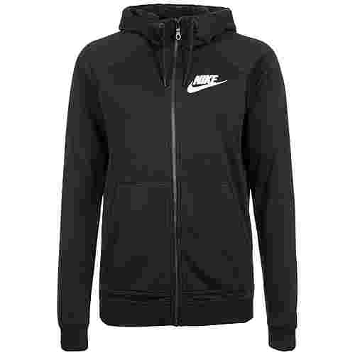 Nike Rally Kapuzenjacke Damen schwarz