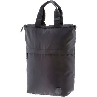 Enter Shopper black heavy nylon-black leather