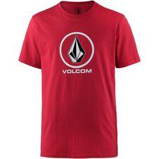 Volcom Crisp Stone T-Shirt Herren engine red